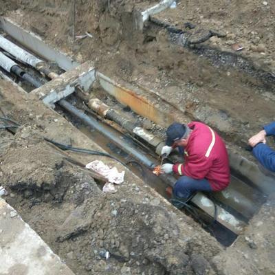 Відновлення зовнішньої мережі теплопостачання на житловий будинок №24 по вулиці Клавдієвській