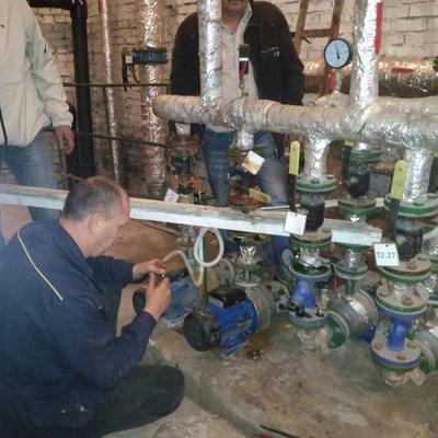 Звіт по ремонтно-відновлювальним роботам за перший тиждень Лютого
