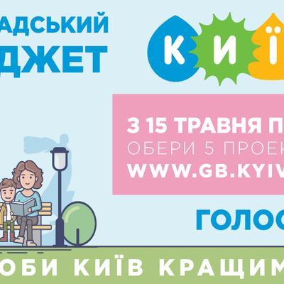 Громадський бюджет міста Києва на 2020 рік