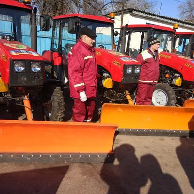 6 лютого 2018 року на транспортну службу завітав  Київський міський голова для огляду нової техніки